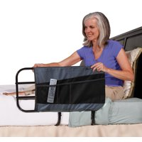 Able Life 4-Pocket Bed Rail Organizer Pouch Accessory