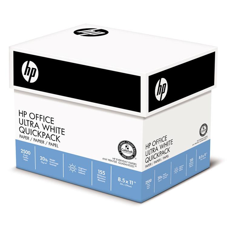 OFFICE20 PAPER, 92 BRIGHT, 20LB, 8-1/2 X 11, WHITE, 500/RM, 5/CT