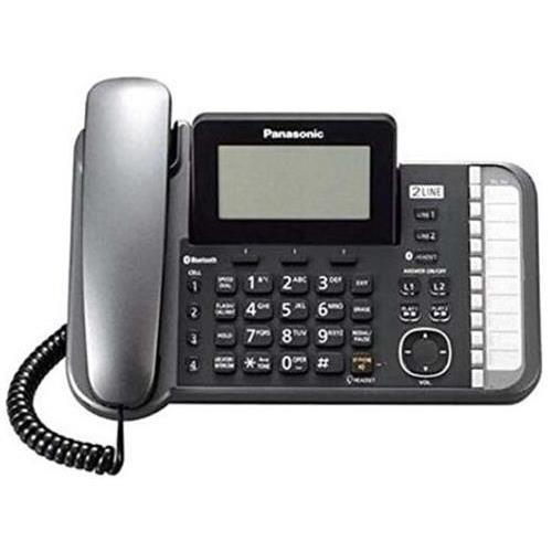Panasonic Link2Cell KX-TG9581B DECT 6.0 Cordless Phone Black 2 x Phone Line 1 x Handset Answering Machine... by