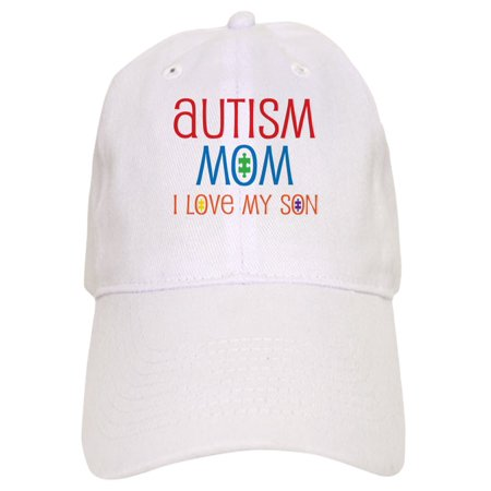 92cd3edd73e CafePress - Autism Mom Loves Son - Printed Adjustable Baseball Cap -  Walmart.com