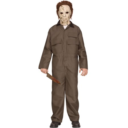 Michael Myers Halloween Movie Deluxe Teen Halloween Costume for $<!---->