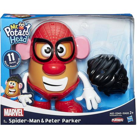 Mr. Potato Head Spider-Man Peter Parker & Spiderman Mr. Potato - Spider Man Mr Potato Head