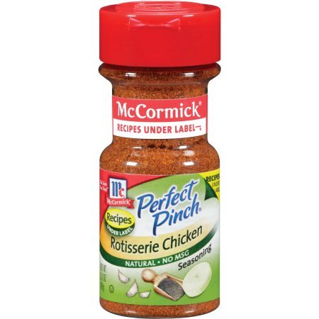 McCormick ® Perfect Pinch ® Rotisserie Chicken, 3.12 oz. Shaker