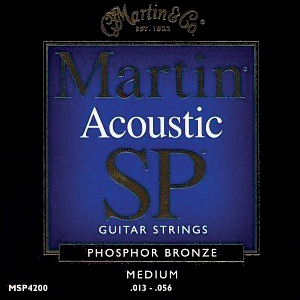 Martin Sp Series Phosphor Bronze Medium Gauge Acoustic Strings