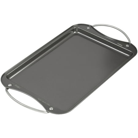 10 X 15 Cookie Pan - Wilton Verona Cookie Sheet with Handles, 15 x 10 in. Pan