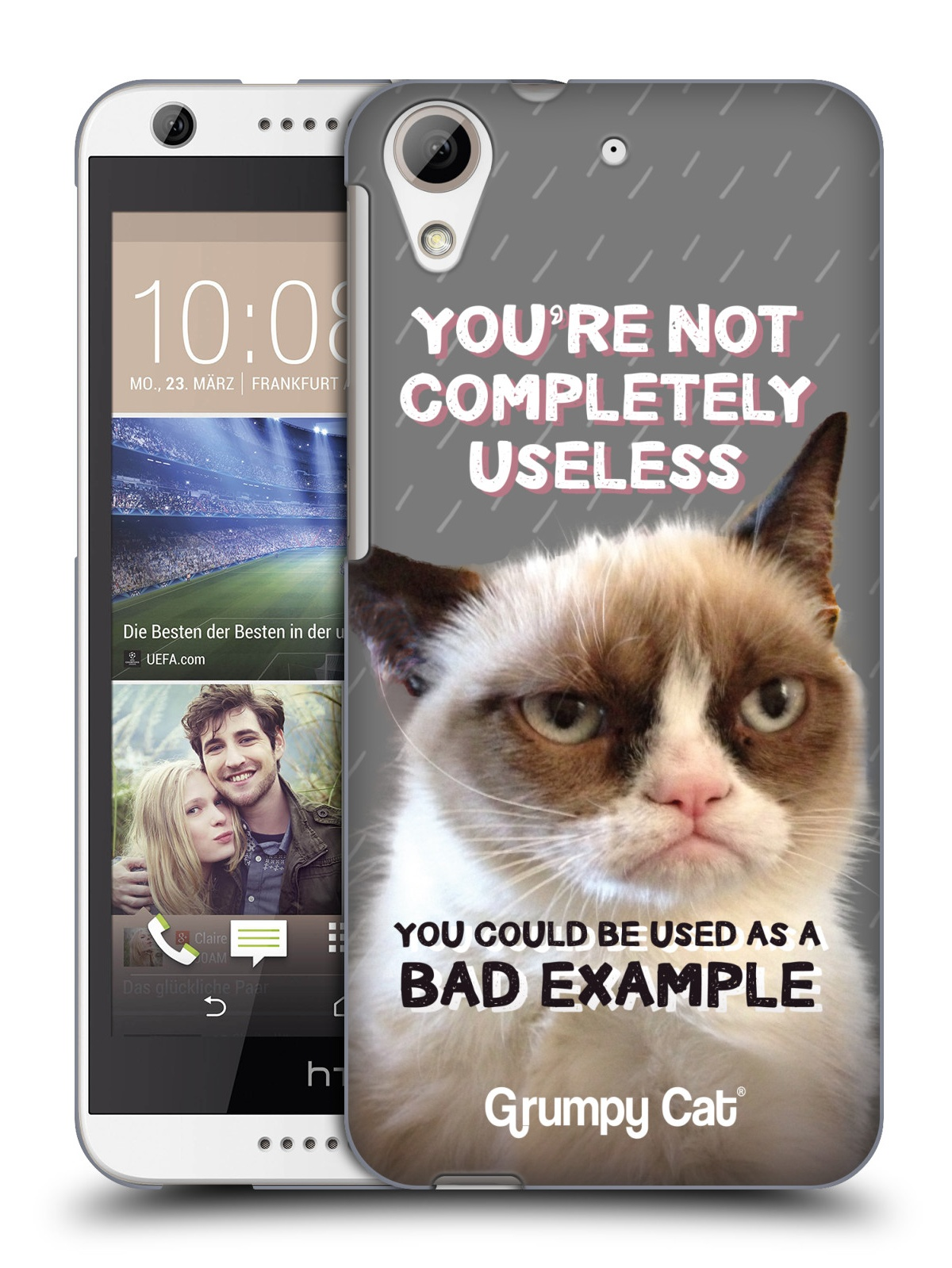 Image of: Movie Official Grumpy Cat This Button Opens Dialog That Displays Additional Images For This Product With The Option To Zoom In Or Out Knijff Merkenadviseurs Official Grumpy Cat Quotes Hard Back Case For Htc Phones Walmartcom