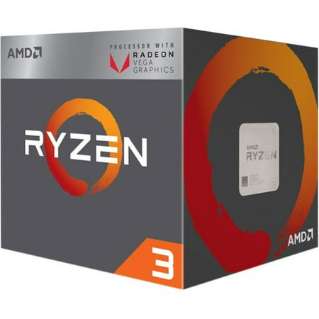 AMD RYZEN 3 2200G Quad-Core 3.5 GHz Socket AM4 65W Desktop Processor (Best Ryzen Cpu For Gaming)