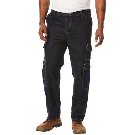 Boulder Creek Men's Big & Tall Side-elastic Cargo Pants Big Tall Ski Pants