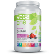 Vega One All in One Nutritional Shake, Mixed Berry, Large, 30 Ounce
