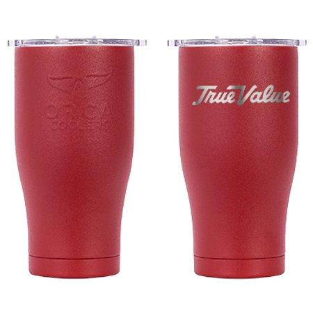 Chaser Tumbler, Red, True Value Logo, 27-oz. Boston Red Sox Plastic Tumbler