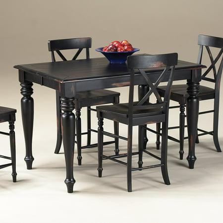 Imagio Home Roanoke Gathering Table, Rubbed Black ()