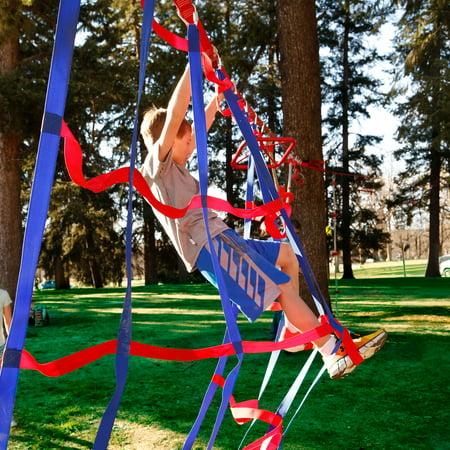 American Ninja Warrior Cargo 7' x 4' Climbing Net](Ninja Climbing Games)