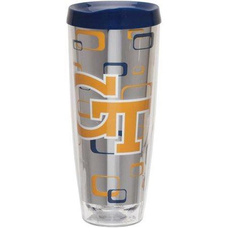 Georgia Tech Yellow Jackets Travel Mug 14oz Full Wrap Style