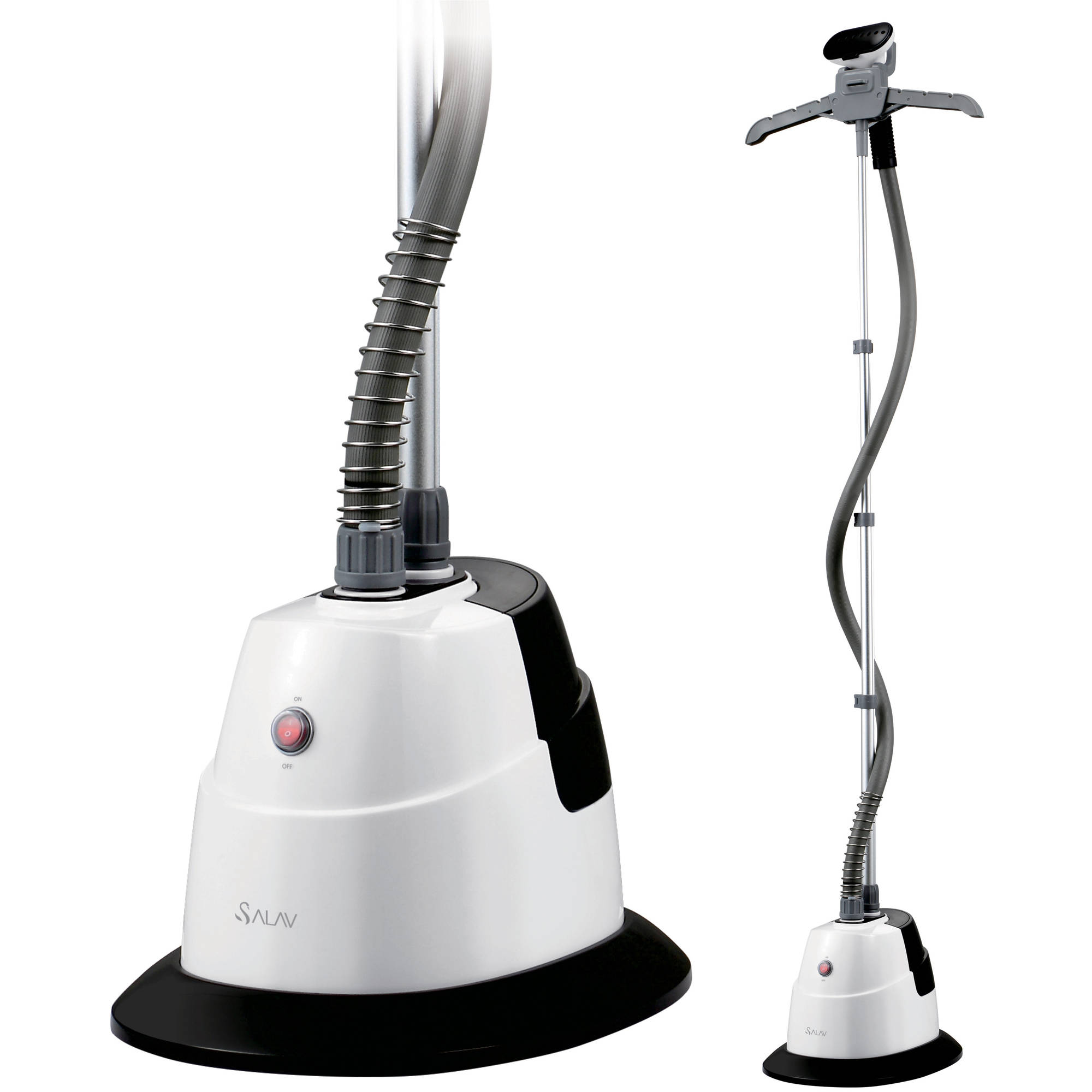 Click here to buy ***DISCONTINUED***SALAV GS06-DJ Performance Garment Steamer with 360 Swivel Hanger, Dual....