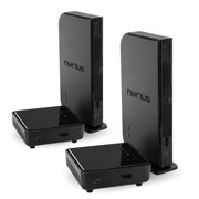 Nyrius ARIES Home HDMI Digital Wireless Transmitter & Receiver for HD 1080p Video Streaming with IR Remote Extender (NAVS500) - Bonus Pack of 2