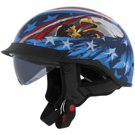 - Cyber Helmet Leathal Threat U-72 Eagle Helmet with Internal Shield