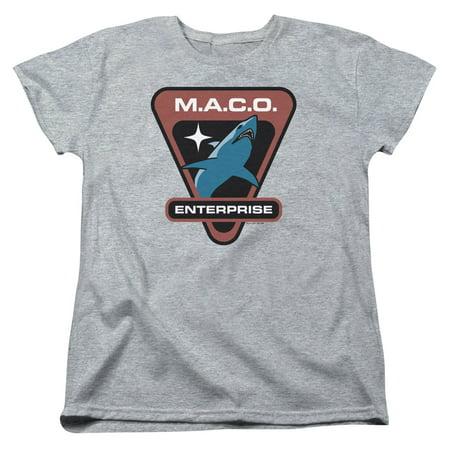 Star Trek Maco Patch Womens Short Sleeve - Star Trek Shirt Womens