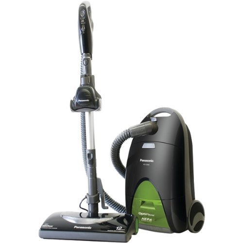 Panasonic MC-CG917 Canister Vacuum Cleaner - 12 A - Twilight Green