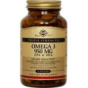 Solgar Omega-3 950mg EPA + DHA, 50ct