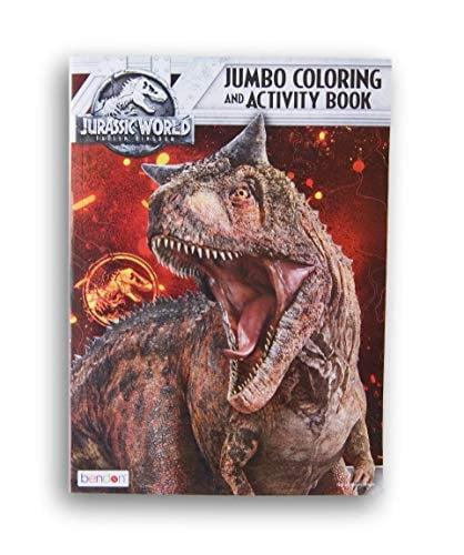 Lazy Days Jurassic World Fallen Kingdom Jumbo Coloring and ...
