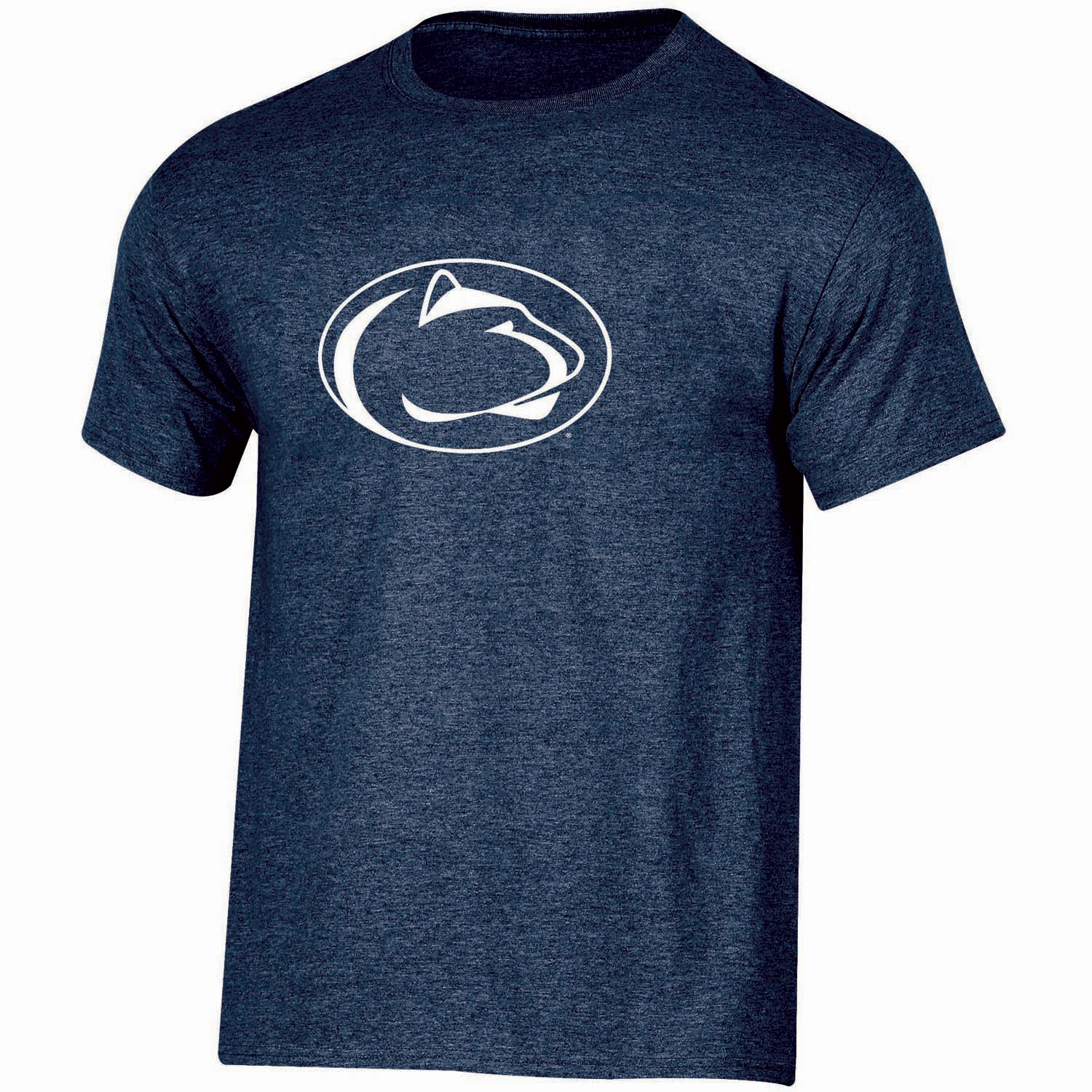 Youth Russell Navy Penn State Nittany Lions Oversized Graphic Crew Neck T-Shirt
