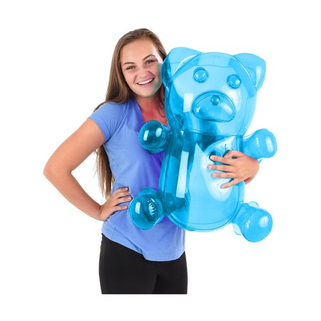 - Delicious Candy Large Blue Gummy Bear Animal Inflatable 24