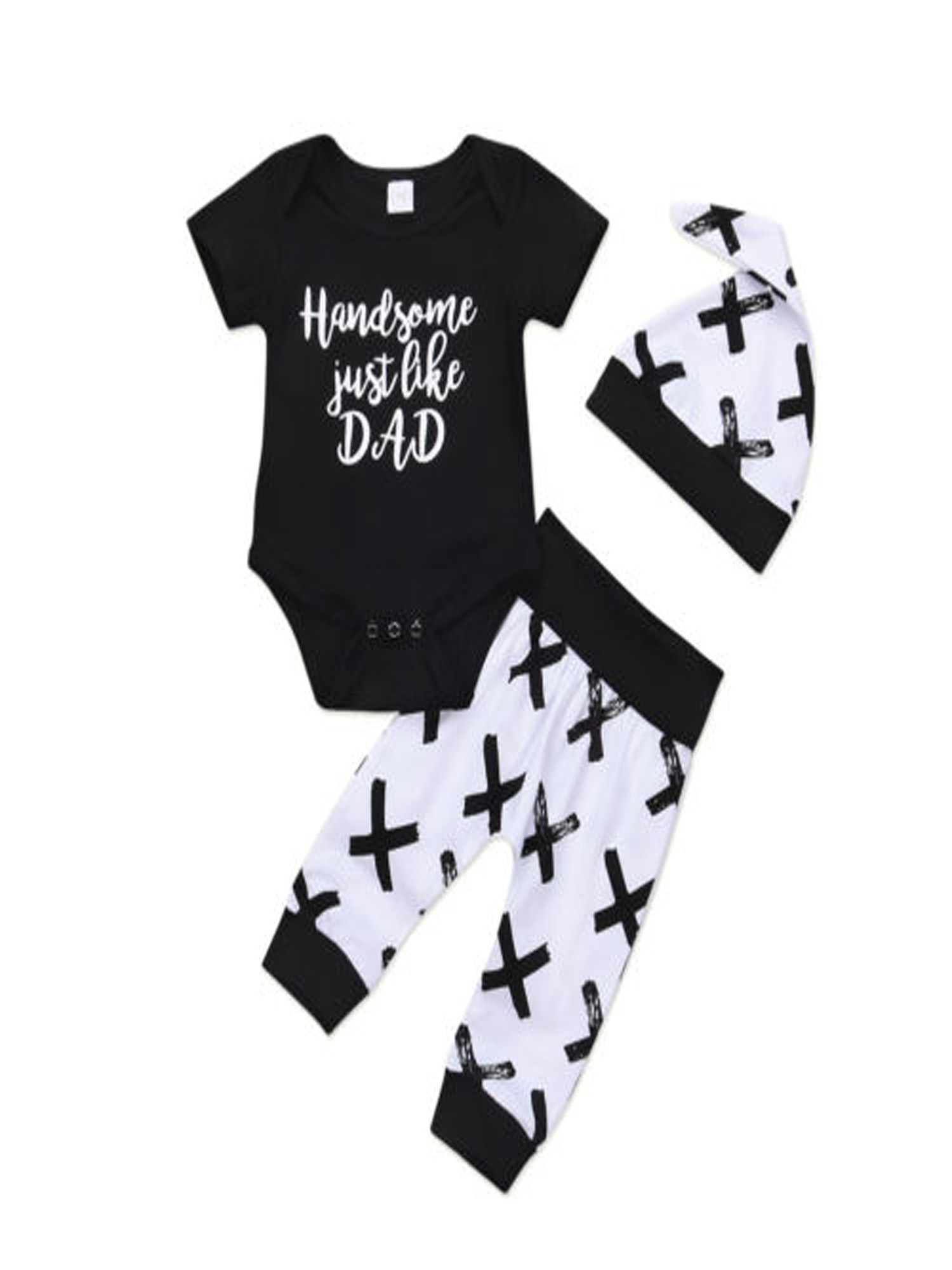 New Toddler Kid Baby Boy Car Print Sweatshirt+Long Pants Leggings Outfit Clothes