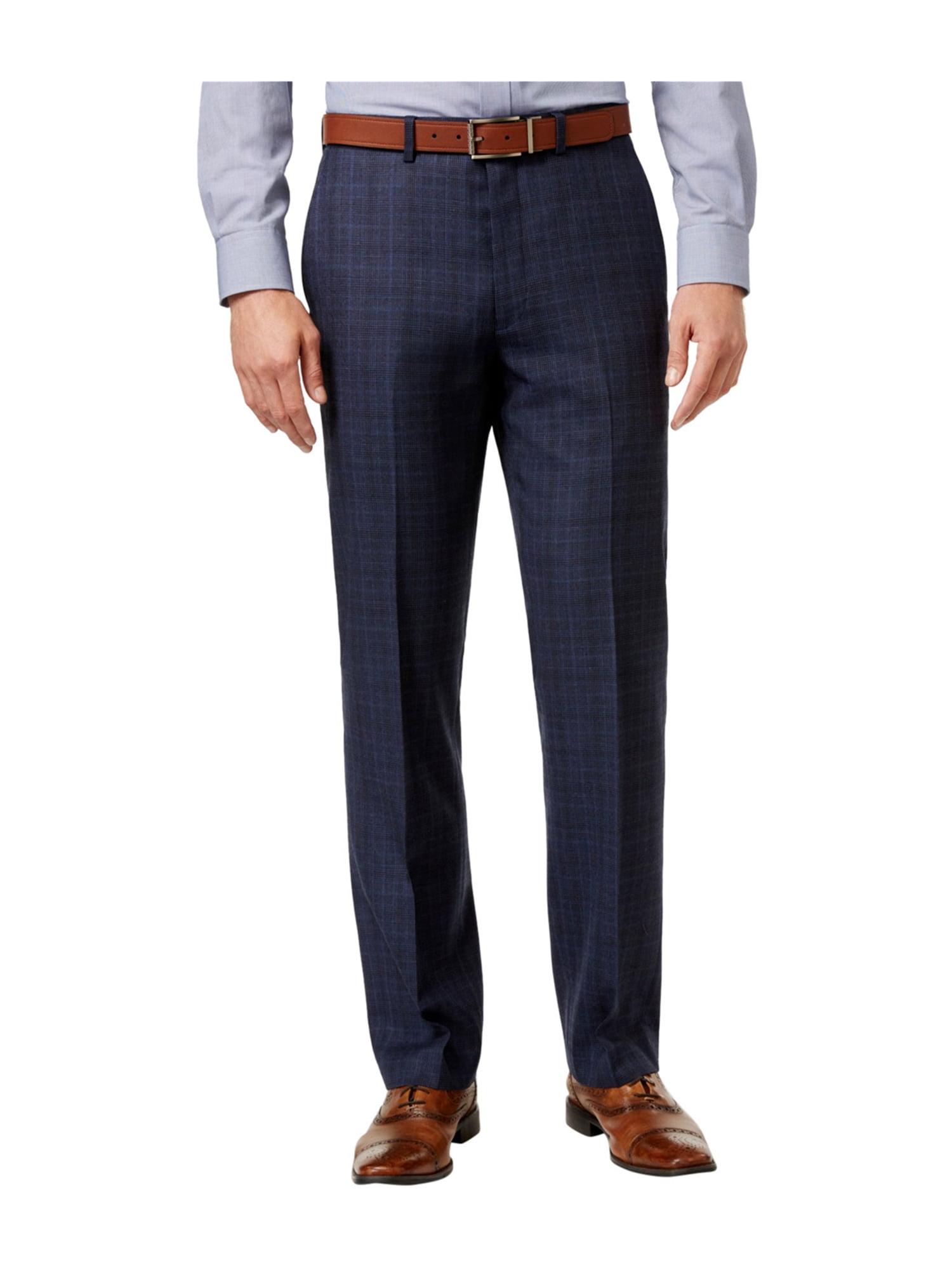 Ryan Seacrest Distinction Mens Flannel Dress Slacks