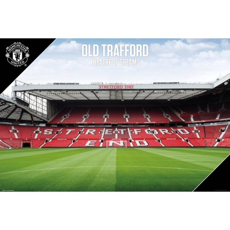 Manchester United - Soccer Poster / Print (Old Trafford - The Stadium) (Size: 36