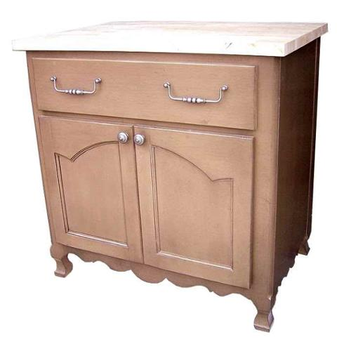 Ft wide kitchen island w 1 long drawer amp 1 large cabinet english