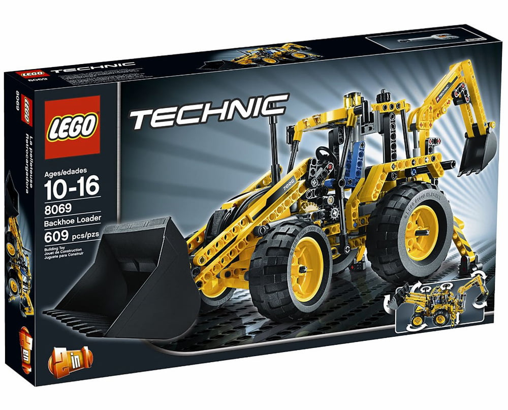 Lego Technic Backhoe Loader Set #8069 by LEGO Systems, Inc.