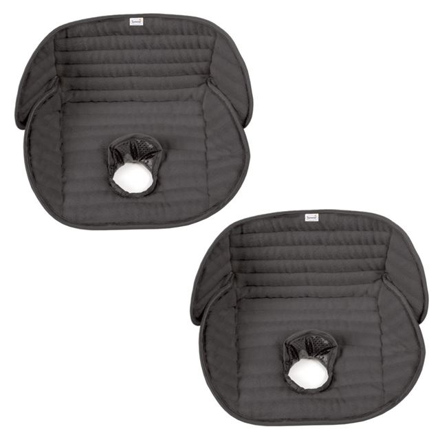 Kiddopotamus by Summer Infant Deluxe Piddle Pad Car Seat Protector, 2 Pack