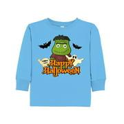 Halloween Monster Toddler Long Sleeve T-Shirt
