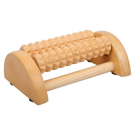 YXwin Foot Massager Roller Deep Tissue Wood Foot Massager for Relieving Foot Arch Pain Plantar Fasciitis Muscle Aches Soreness Stimulates