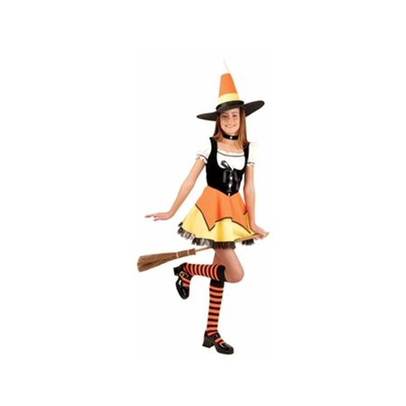 Child's Candy Corn Witch Costume - Baby Candy Corn Costume
