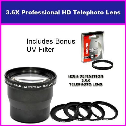 Opteka Digital Concepts 3.5X HD Professional Telephoto le...
