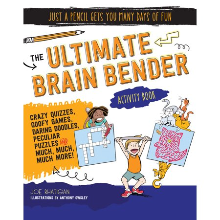 The Ultimate Brain Bender Activity Book - Brain Break Activities