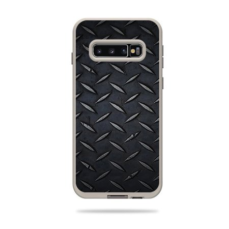 Skin For Lifeproof Fre Case Samsung Galaxy S10+ - Black Diamond Plate | MightySkins Protective, Durable, and Unique Vinyl Decal wrap cover | Easy To Apply, Remove, and Change Styles | Made in the USA Black Diamond Ascension Skins