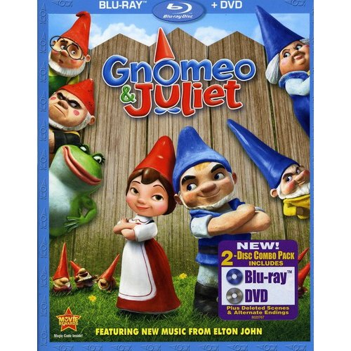 Gnomeo And Juliet (2-Disc Blu-ray   DVD) (Widescreen)