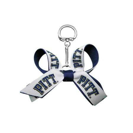 University of Pittsburgh Mini Bow Keychain