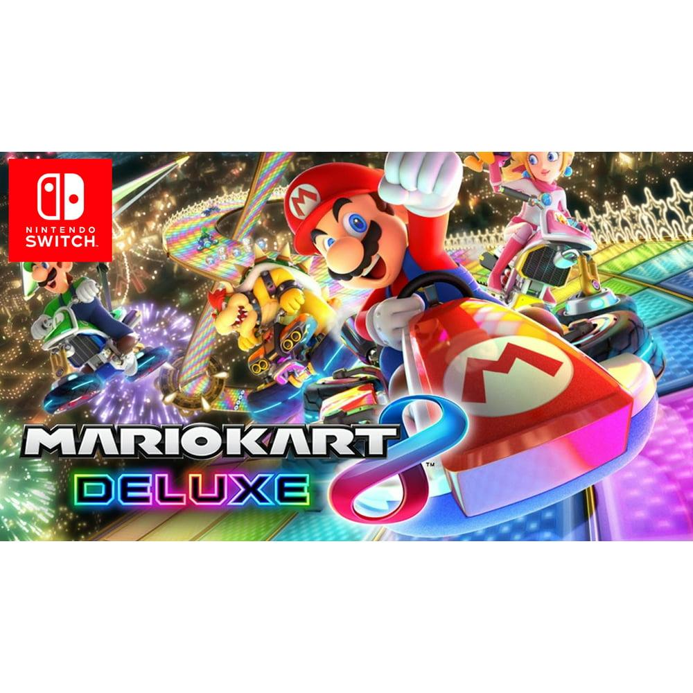 Mario Kart 8 Deluxe, Nintendo Switch (Digital Download)