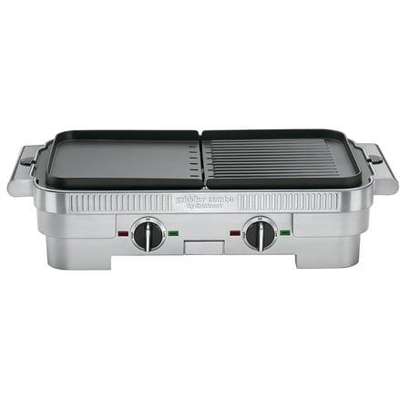 Cuisinart Grill Pan (Cuisinart GR-55FR Griddler Stainless Steel Nonstick Grill/Griddle Combo (CERTIFIED)