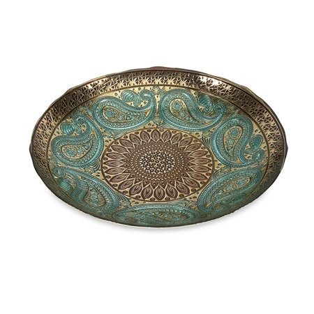 - Paisley Glass Bowl