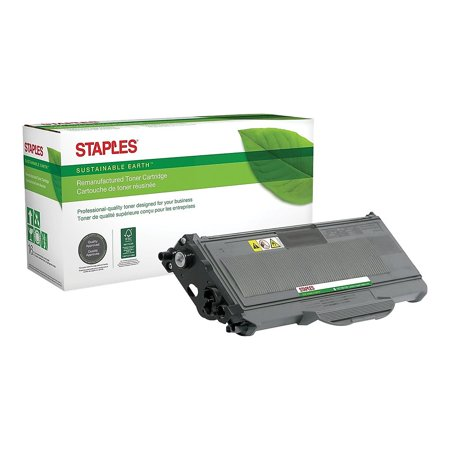 Staples Reman Lsr Toner Crtg Brother TN360 (TN-360) Black High Yield 863176 Black Reman Toner