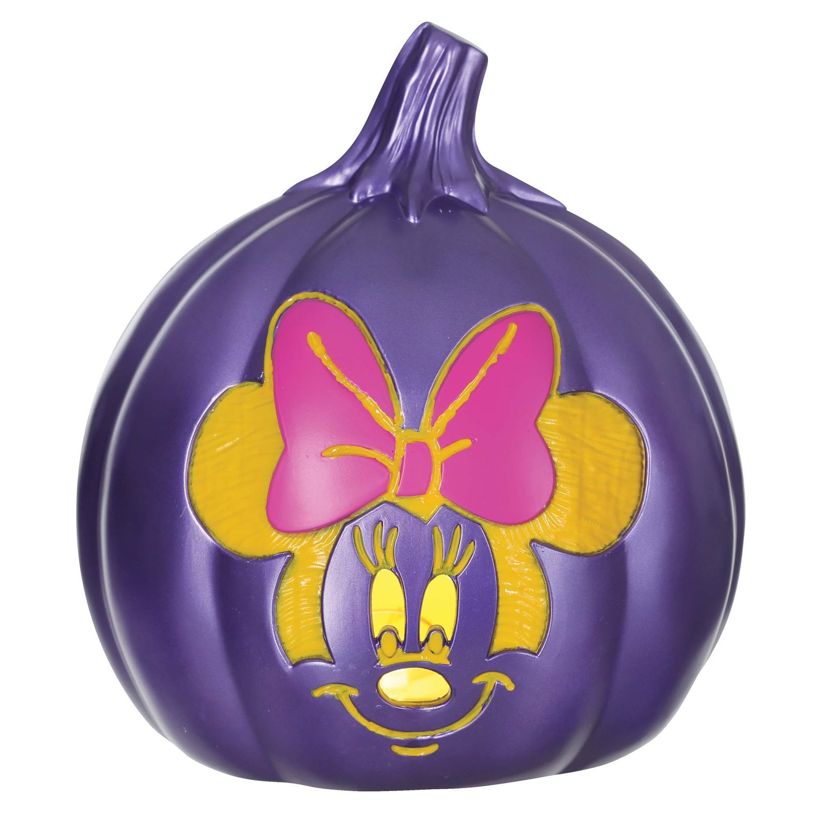 "Minnie Mouse 6"" Light-Up Pumpkin"