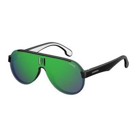 Sunglasses Carrera 1008 /S 0807 Black / Z9 green multilaye (Carrera Sunglasses Review)