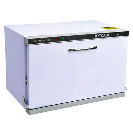 (2in1 23L UV Sterilizer Hot Towel Warmer Cabinet Facial Skin Spa Massage Hair Beauty Salon Equipment)
