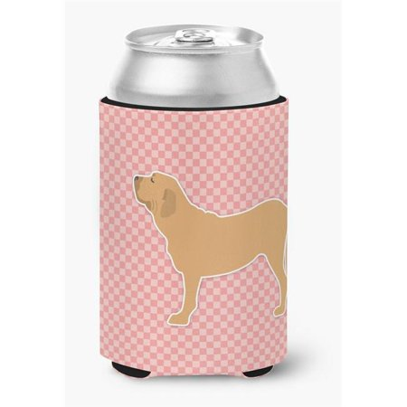 Fila Brasileiro Checkerboard Pink Can or Bottle Hugger - image 1 de 1