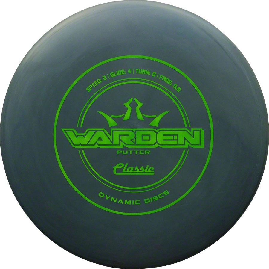 Dynamic Discs Warden Classic Golf Disc: Putter Assorted Colors