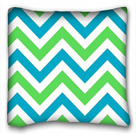 WinHome Chevron Gradient Wave Tribal Striped Geometric Pillowcase Throw Cushion Pillow Case Cover Anchor Light Blue Coral Teal Pink Mint Green Turquoise Aqua Grey Beige For Home Sofa Size 18x18 - Mint Green Wedding Decorations